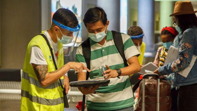 Sanidad continuará con el control de pruebas diagnósticas de COVID-19 de los viajeros nacionales que llegan a Canarias