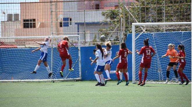 El RUT Tacuense se lleva el derbi ante la UDG Tenerife B