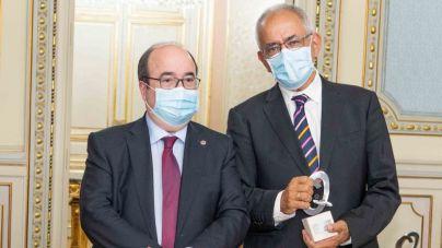 Entrega del Accésit del Premio Nacional de Innovación Pública 2020 al Comisionado de Transparencia de Canarias