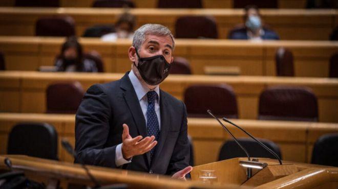 """Clavijo pide a Sánchez que impida que los canarios sin recursos elijan entre """"pagar a Hacienda o comer"""""""