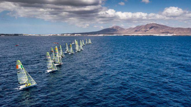Turismo de Canarias logra un impacto publicitario valorado en tres millones de euros con el clasificatorio olímpico de vela