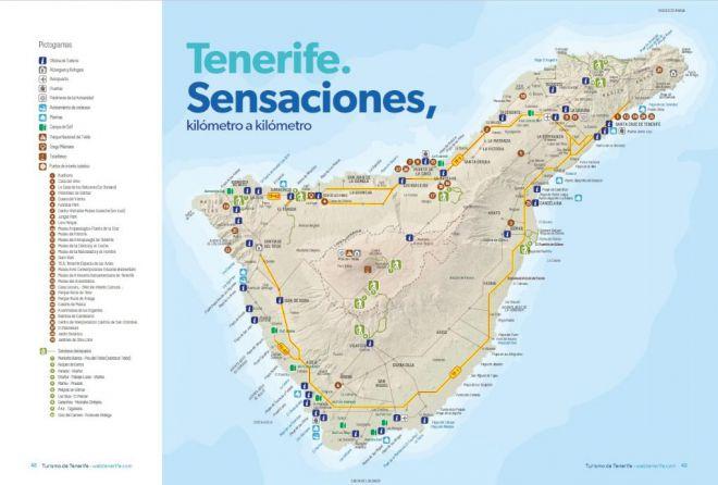 """""""Chapuza inaceptable"""": La nueva marca turística de Tenerife incluye un mapa con 22 errores"""