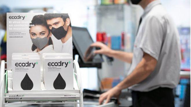 Spar Gran Canaria, primera cadena de supermercados en comercializar las mascarillas Ecodry en Canarias