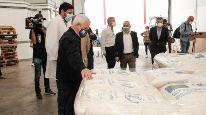 Gran Canaria prepara el envío de 1.200 toneladas de gofio para los campamentos saharauis