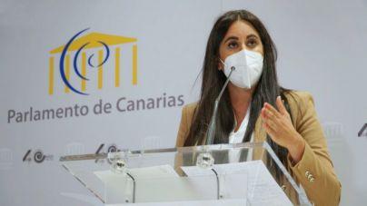 Vidina Espino exige más celeridad a Educación para eliminar el amianto que todavía existe en casi cuarenta centros de las Islas