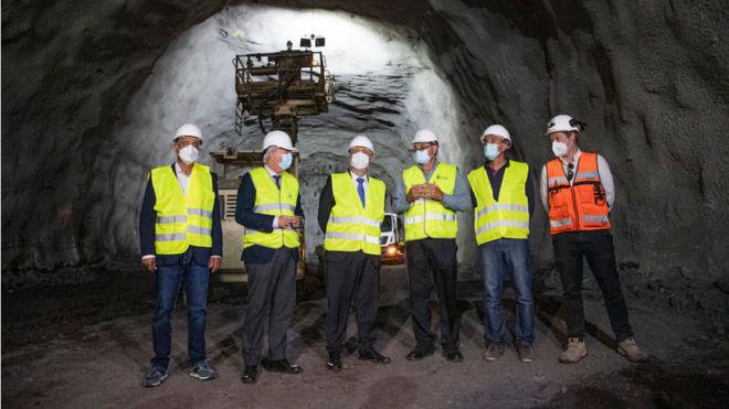 Las obras de la segunda fase de la Carretera de La Aldea alcanzan los 2.000 metros de túneles excavados