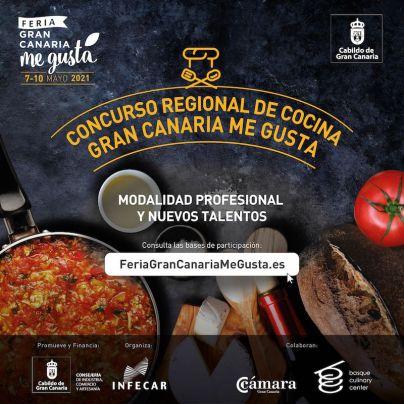 El plazo para inscribirse en el I Concurso Regional de Cocina Gran Canaria Me Gusta aún estará abierto hasta el miércoles