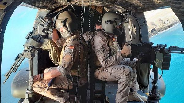 Despedida del contingente liderado por el Bhelma VI que desplegará en Irak
