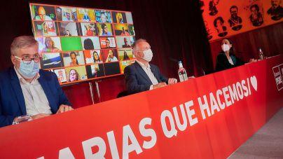 Ángel Víctor Torres y su Ejecutiva reciben el respaldo del Comité Regional socialista