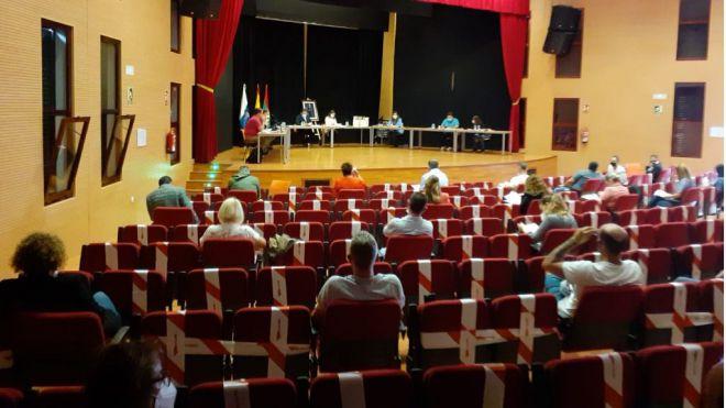 CC-PNC de Arona apuesta por inversiones que rescaten a las personas y no obras que no reactivan la economía