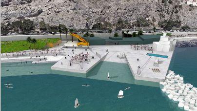 Puertos de Tenerife y la UTE adjudicataria firman el contrato de obra para la ordenación del litoral de Valleseco