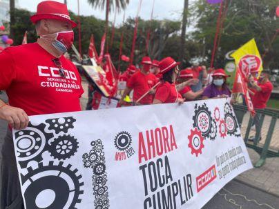 UGT y CCOO defienden el Primero de Mayo como un 'punto de inflexión' en la historia de las reivindicaciones sindicales