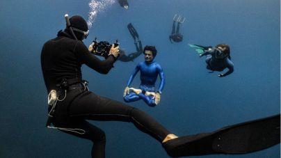 Radazul acoge el rodaje de un capítulo de la serie sobre deportes extremos 'Reset', que se estrenará en cines en junio