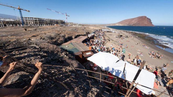 Sí Podemos Canarias reclama al Cabildo de Tenerife que intermedie para paralizar las obras en La Tejita
