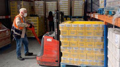 CC-PNC solicita 3 millones de euros para que el Banco de Alimentos de Tenerife afronte la emergencia social