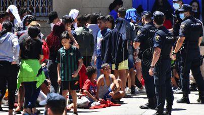 El Gobierno de Ceuta ha recibido más de 4.400 llamadas desde Marruecos preguntando por niños perdidos