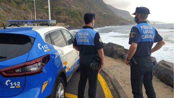 Policías locales de Los Realejos esclarecen un atropello acaecido hace 9 meses tras una intensa investigación