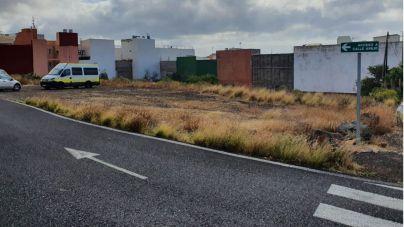 Santa Cruz tramita la cesión de suelo para construir 90 viviendas en Barranco Grande