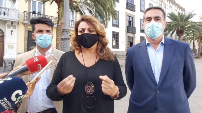 """CC acusa al PSOE de """"tomar el pelo a Canarias"""" al pedir la distribución de los menores extranjeros"""