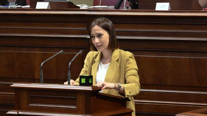 Nira Fierro afirma que el trabajo del actual Ejecutivo de Canarias