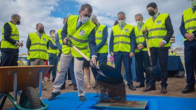 Santa Cruz recupera su relación con el mar con las obras de la playa de Valleseco