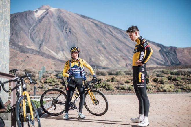 Turismo de Canarias consolida a las Islas como destino de primer nivel para el entrenamiento del ciclismo profesional