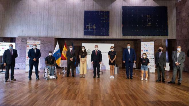 Presentados los seis deportistas de Canarias preseleccionados para los Juegos Paralímpicos de Tokio
