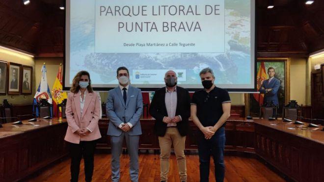 Turismo de Canarias y Ayuntamiento de Puerto de la Cruz proyectan un nuevo modelo costero para Punta Brava