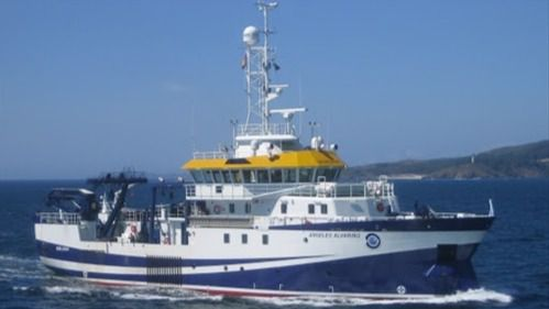 El 'Ángeles Alvariño' regresa a puerto por una avería en el equipamiento