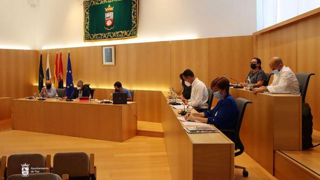 Tías aprueba de forma definitiva los presupuestos de 2021 por 24.032.629 euros