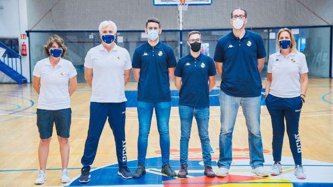 Nuevo cuerpo técnico del equipo EBA del RC Náutico