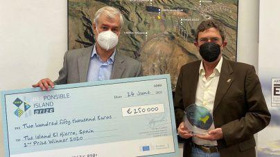 La isla de El Hierro, galardonada por la Unión Europea en el RESponsible Island Prize