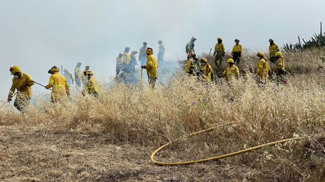 La Gomera prohíbe las quemas controladas y el uso de fuego en zonas recreativas