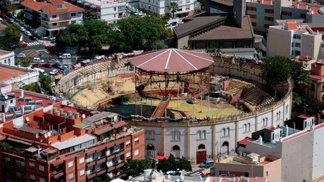 Sí Podemos Canarias defiende la protección de la Plaza de Toros como espacio para la ciudadanía