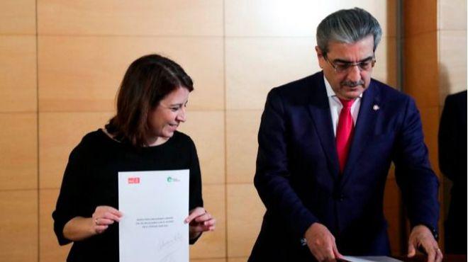 NC solicita una reunión urgente con el PSOE por el incumplimiento del acuerdo de Legislatura
