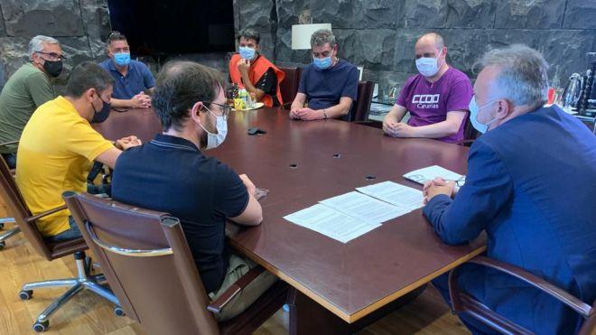 Pacto entre las empresas del grupo JSP y los representantes sindicales para garantizar el empleo