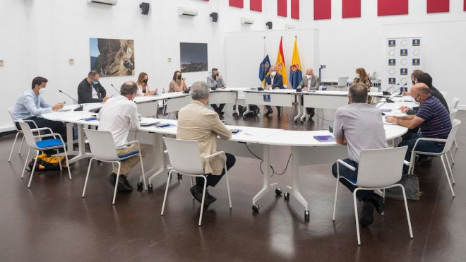 Cabildo y Gobierno acuerdan impulsar la declaración de Guguy como Parque Nacional en el menor plazo posible