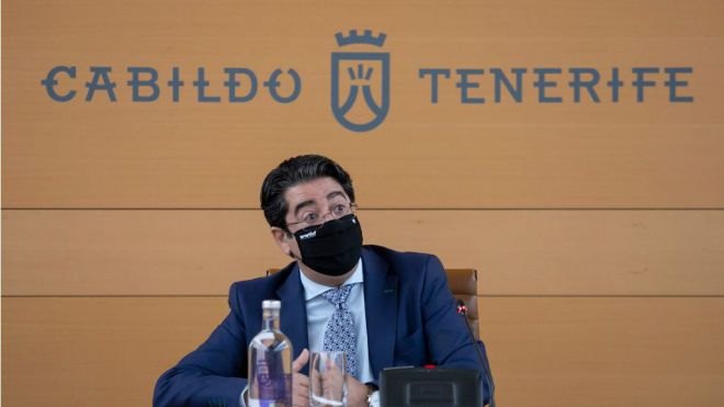 Martín destaca que el Cabildo es el primero en dar ayudas a pymes y autónomos con deudas
