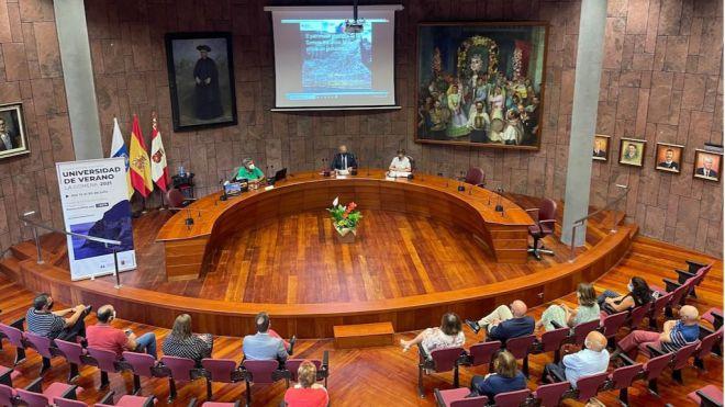 El Cabildo y la ULL aperturan una nueva edición de la Universidad de Verano de La Gomera