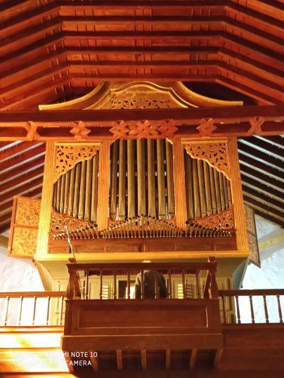 El órgano musical del siglo XVII-XVIII de San Juan Bautista regresa a Arico tras su restauración