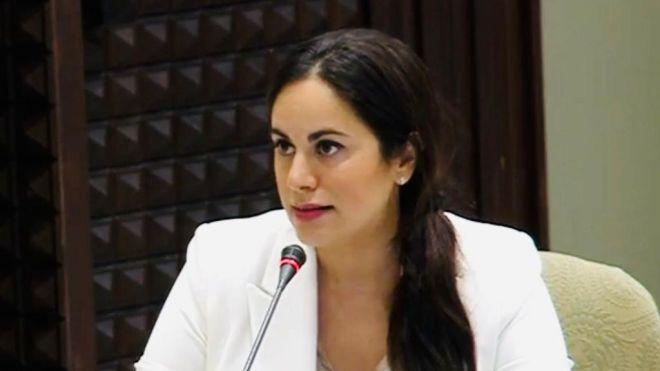 Vidina Espino presenta su baja de Ciudadanos