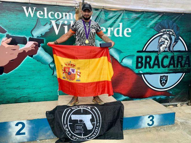 El agente Jorge Gutiérrez gana el torneo de tiro internacional de Bracara, Portugal