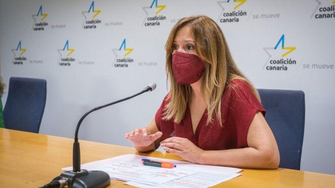 Rosa Dávila denuncia la falta de transparencia del Gobierno a la hora de informar sobre los proyectos tractores de Tenerife