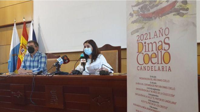 '2021. Año Dimas Coello', Candelaria honra la vida y obra del pintor con una completa programación cultural