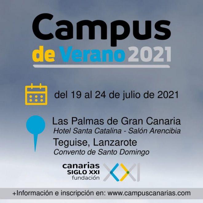 'Canarias: frontera Sur de Europa' cierra el primer Campus de Verano de la Fundación Canarias Siglo XXI