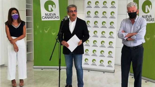 Nueva Canarias convoca su V Congreso para finales del próximo mes de febrero