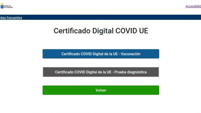 Sanidad registra un total de 898.533 descargas de Certificado COVID Digital UE desde su puesta en marcha