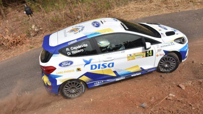 Raúl Capdevila se puso a punto y disfrutó con el Ford Rally4 de Archiauto