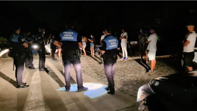 Más de 120 actas por infracciones durante la última semana en la capital tinerfeña