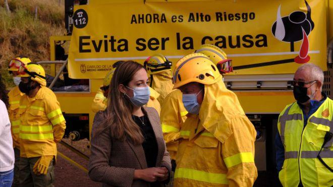 Medio Ambiente contará con una nueva autobomba para combatir los incendios forestales